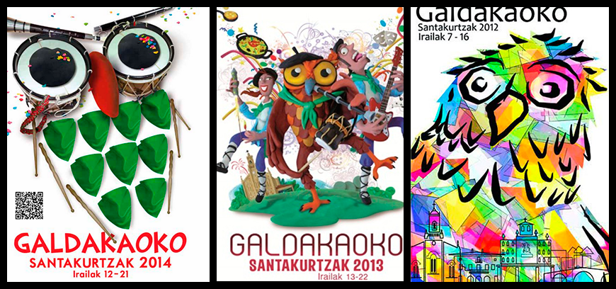 carteles fiestas galdakao
