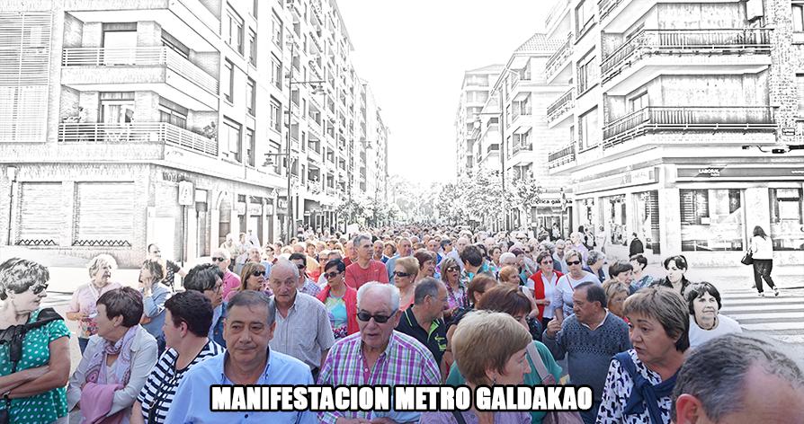 manifestacion galdakao