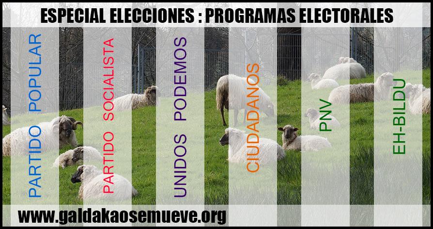 elecciones generales 2016 galdakao