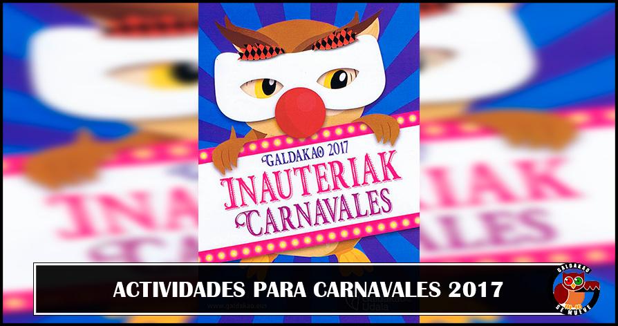 carnavales galdakao 2017